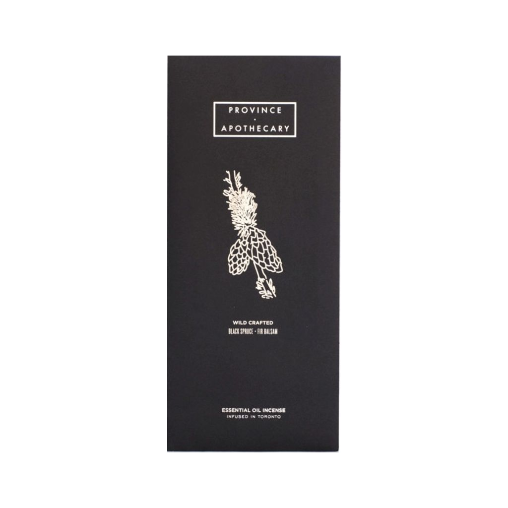 Province Apothecary Essential Oil Incense | Spruce & Fir