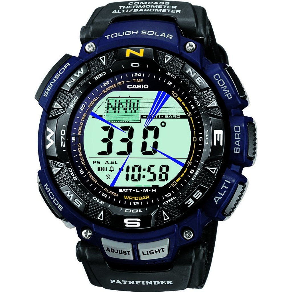Casio Pro Trek PAG-240B-2CR Watch | Black/Navy