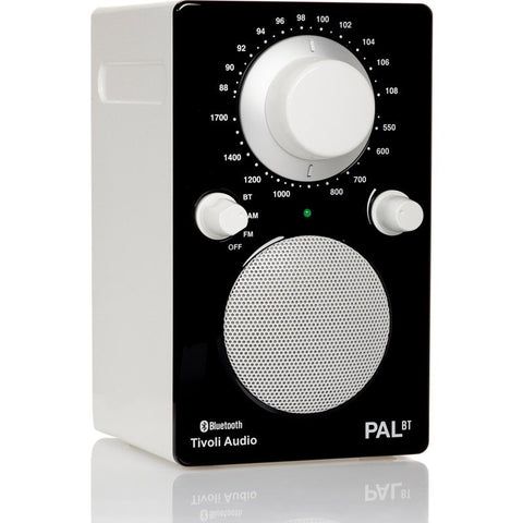 Tivoli Audio PAL BT Bluetooth Speaker Radio | Black/White PALBTGBLK