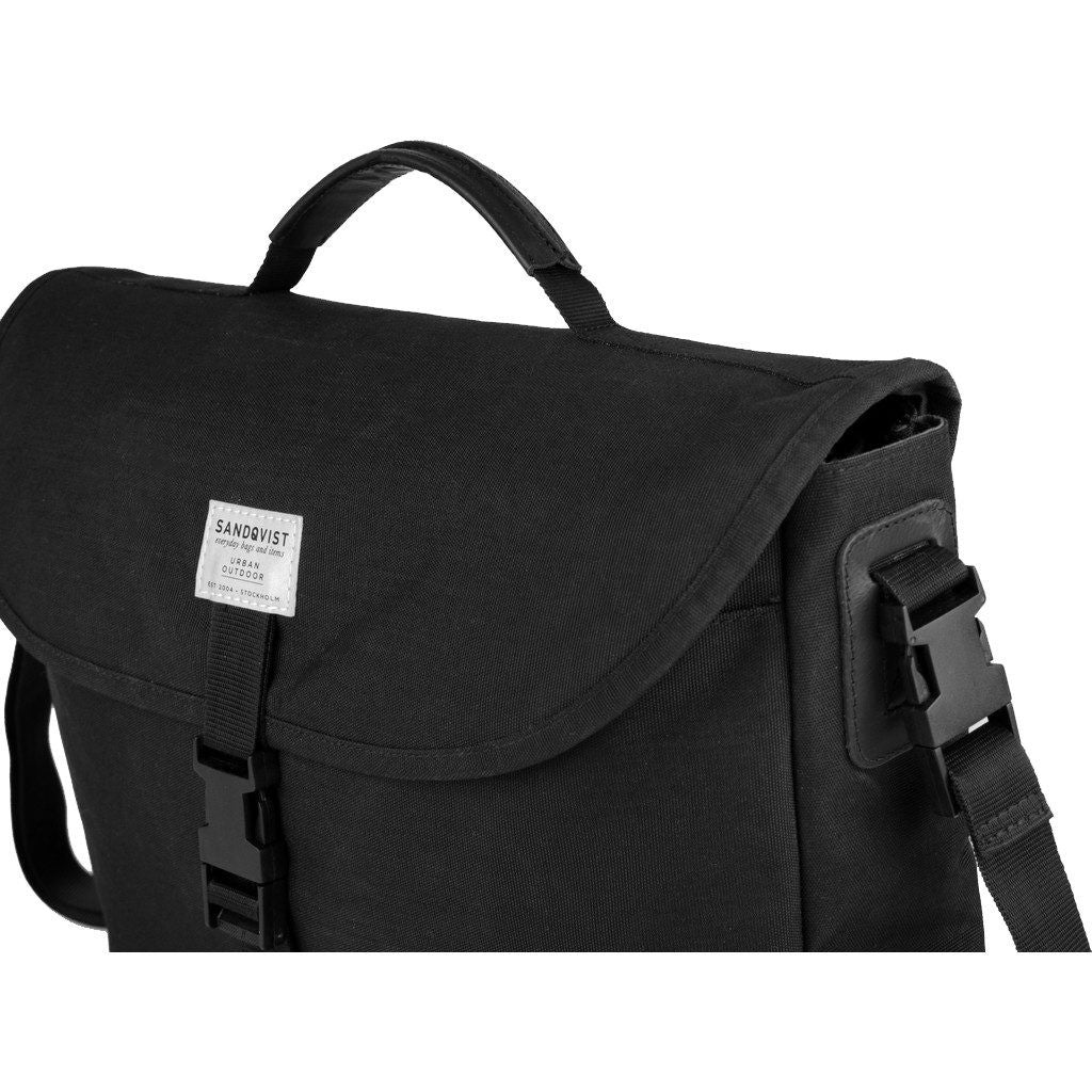 Sandqvist Patrik Messenger Briefcase | Black