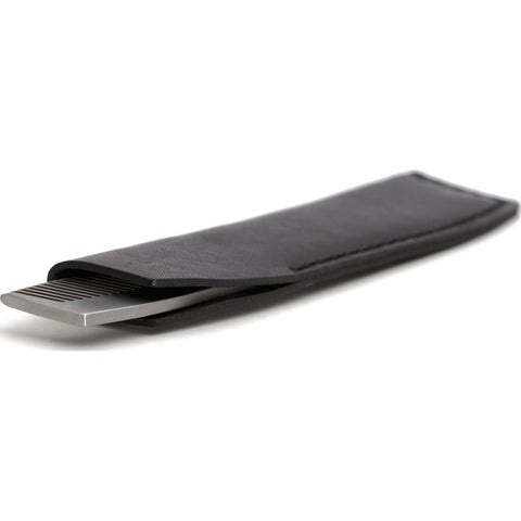 Ezra Arthur No.1827 Pocket Comb with Sleeve | Jet Black Pc1827Ss11