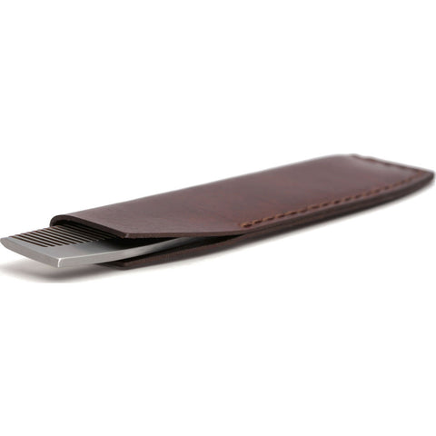 Ezra Arthur No.1827 Pocket Comb with Sleeve | Malbec Pc1827Ss13