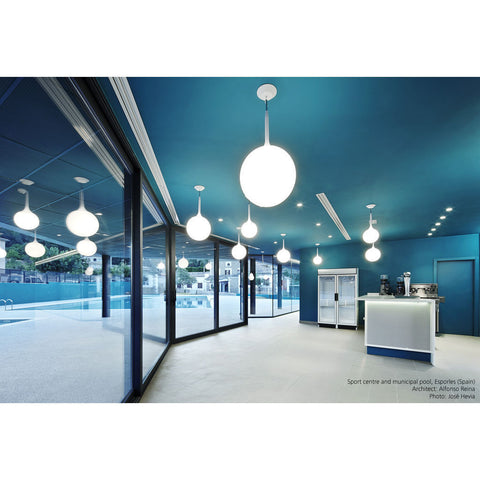Artemide Castore Suspension Lamp | White