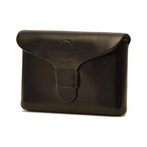Peroni Leather Business Card Holder | Black PF-751BK