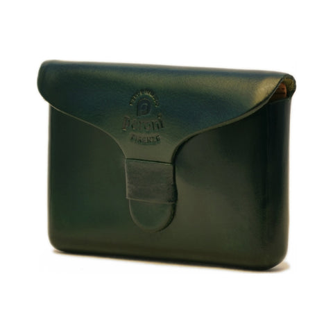 Peroni Leather Business Card Holder | Dark Green PF-751DG