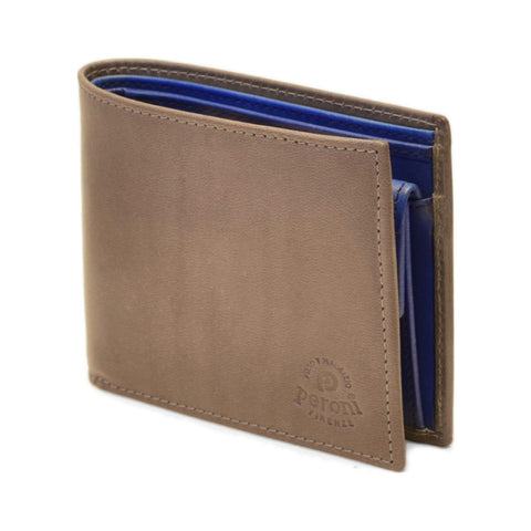 Peroni Leather Wallet | Grey PF-80011GYBB