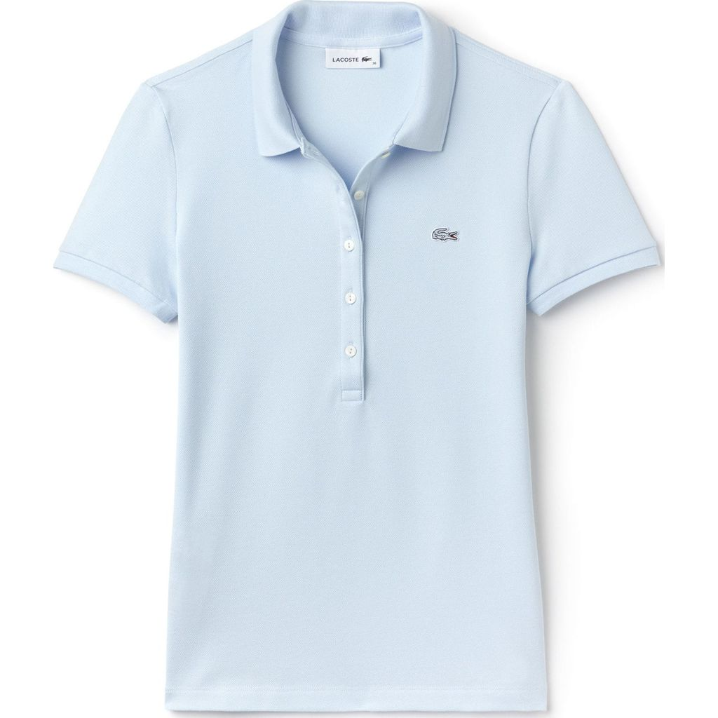 22b094b5 ... Lacoste Slim Fit Stretch Cotton Pique Women's Polo Shirt | Rill ...