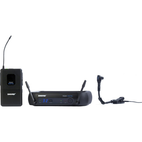 Shure PGXD14/BETA98H Digital Wireless System with Beta 98H/C Microphone | Black