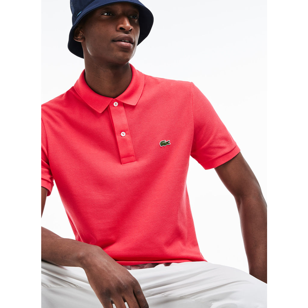 e2947785 Lacoste Men's Short Sleeve Slim Fit Petit Petit Pique Polo | Fuscia Pink-  ph4012_4XL( ...