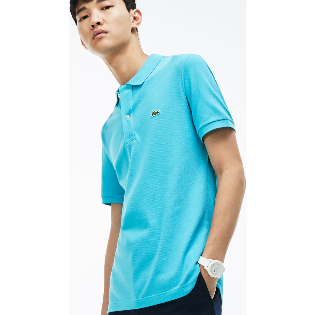 daafd992 Lacoste Slim Fit Pique Men's Polo Shirt in Atoll - Sportique