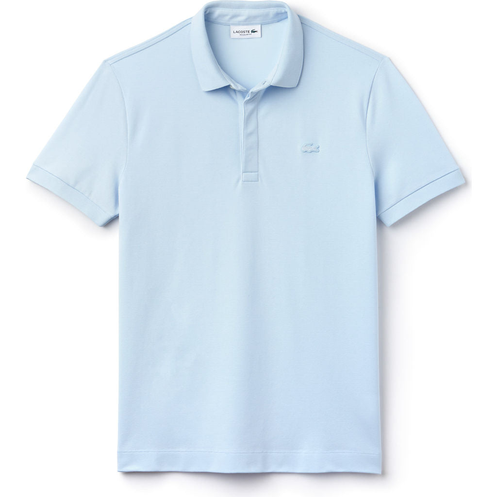 862598e0d453 ... Lacoste Paris Edition Cotton Pique Men's Polo Shirt | Rill Light Blue  PH5522 ...