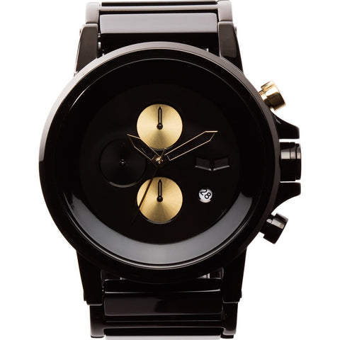 Vestal Plexi Acetate Watch | Black/Gold/Minimalist PLA024
