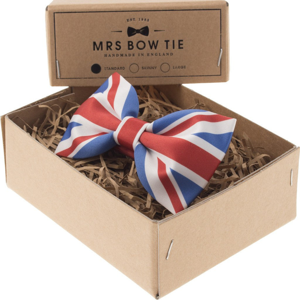 Mrs Bow Tie Flag Of United Kingdom Ready-Tied Bow Tie | Print PLAC109