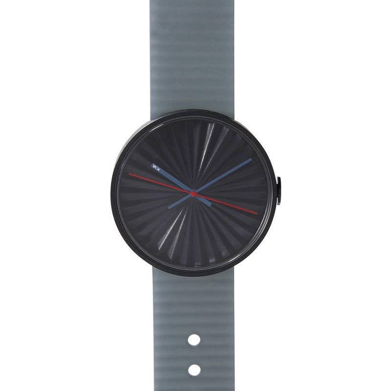 Nava Design Plicate 3D Dial Watch | Blue O460B