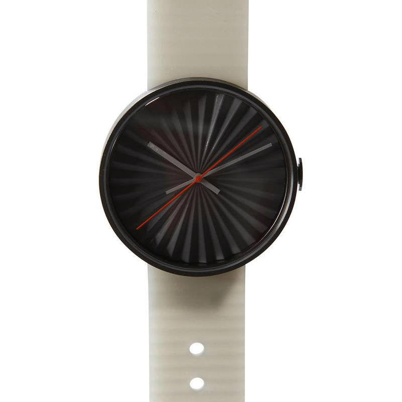 Nava Design Plicate 3D Dial Watch | Grey O460G