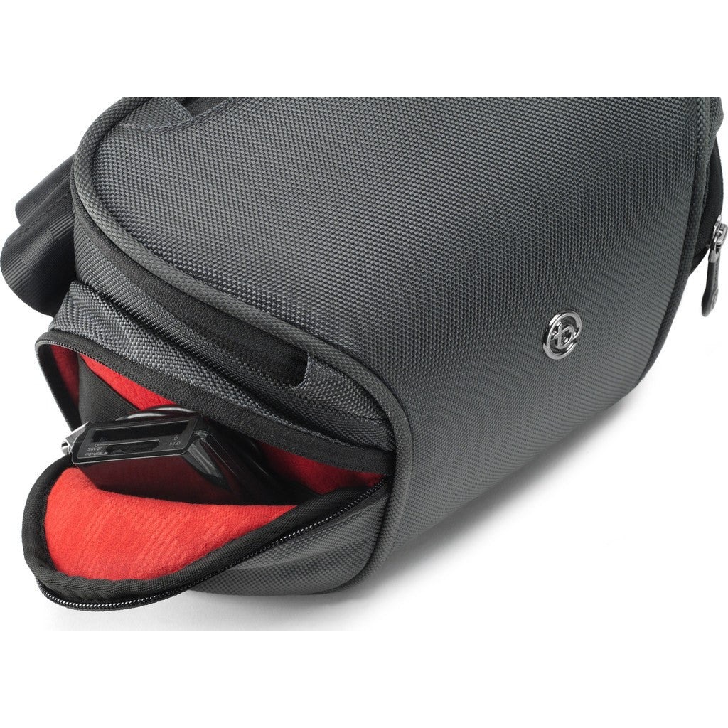 Booq Python Mirrorless Camera Bag | Gray/Red