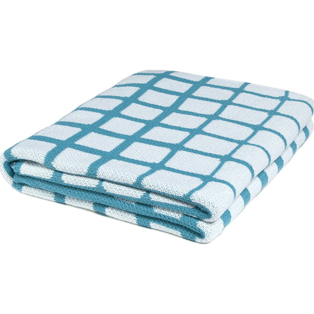 in2green Waterline Poly Eco Throw | Water/White POLY-WL04