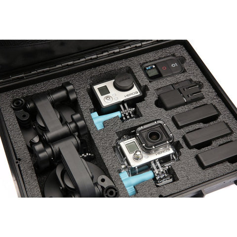 UK Pro POV40 Multi-Camera Hard Case | Black