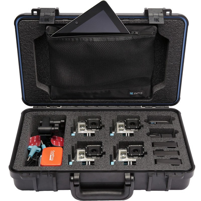 UK Pro POV60 Multi-Camera Hard Case | Black