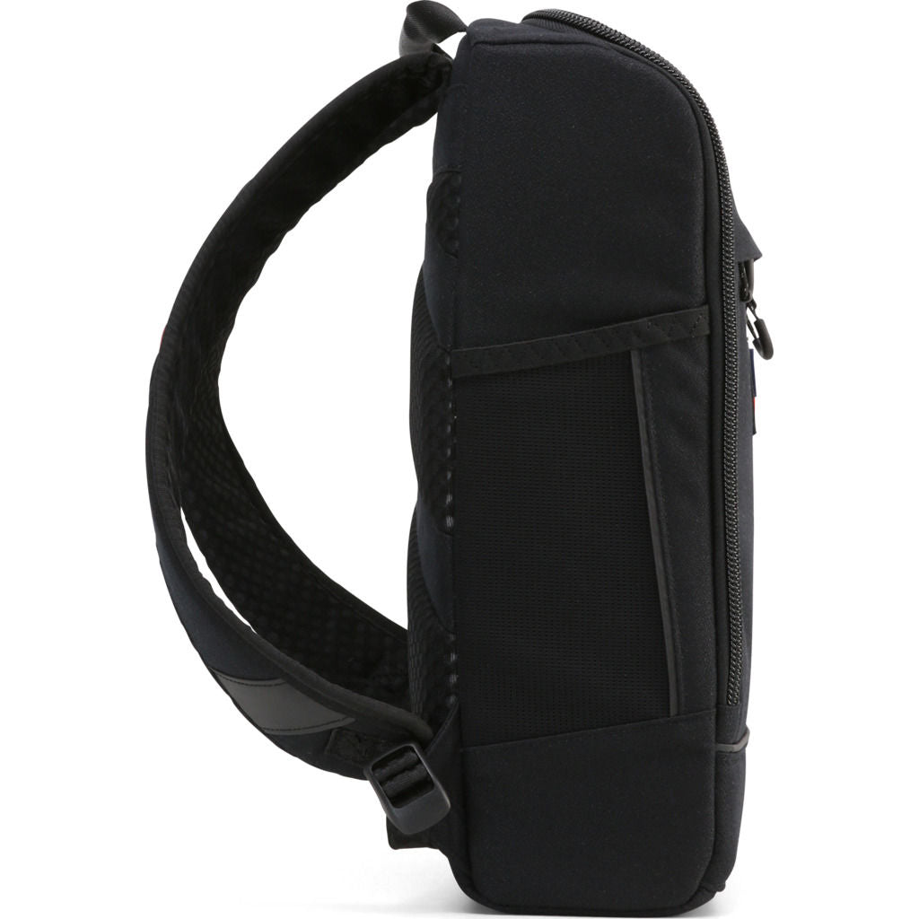 Pinqponq Small Cubik Pure Backpack in Licorice Black - Sportique 3a1fc4bf0f312