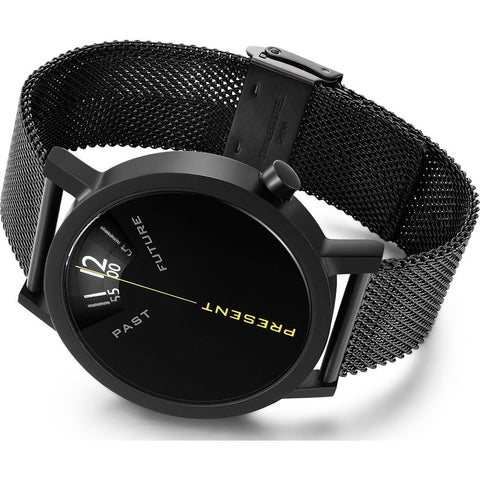 Projects Watches Past, Present & Future Watch | Black/Steel Mesh 7214 BM-40