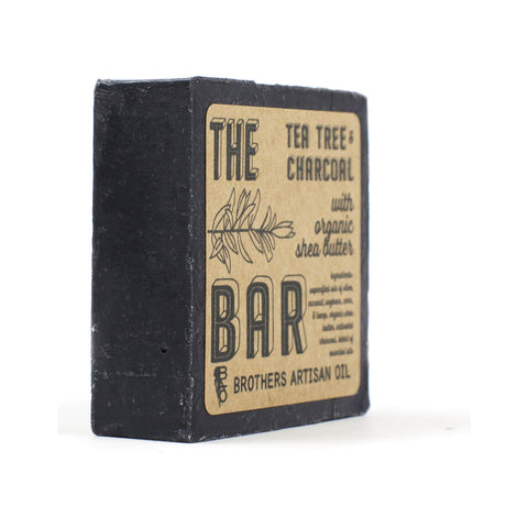 Brothers Artisan The Soap Bar | Tea Tree & Charcoal TBTTC
