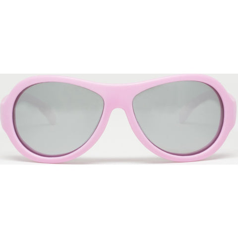 Babiators Princess Pink Polarized Kids Sunglasses | Stylin' Silver Ages 0-7+