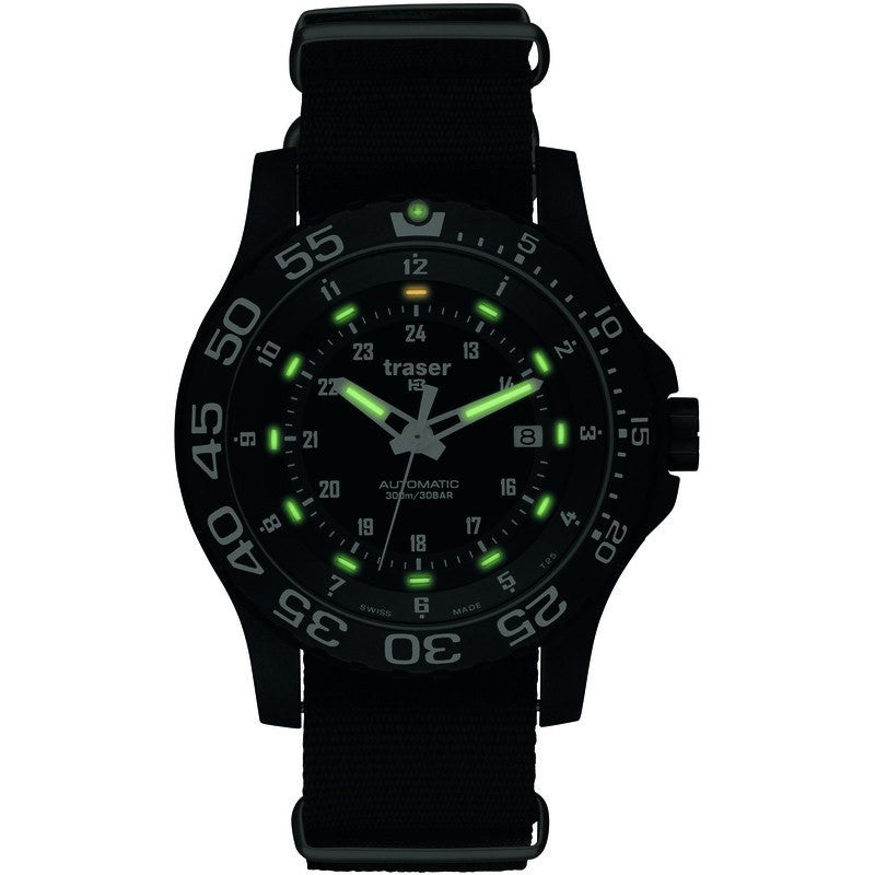 traser H3 Professional P6600 Automatic Pro Men's Watch Nylon Strap