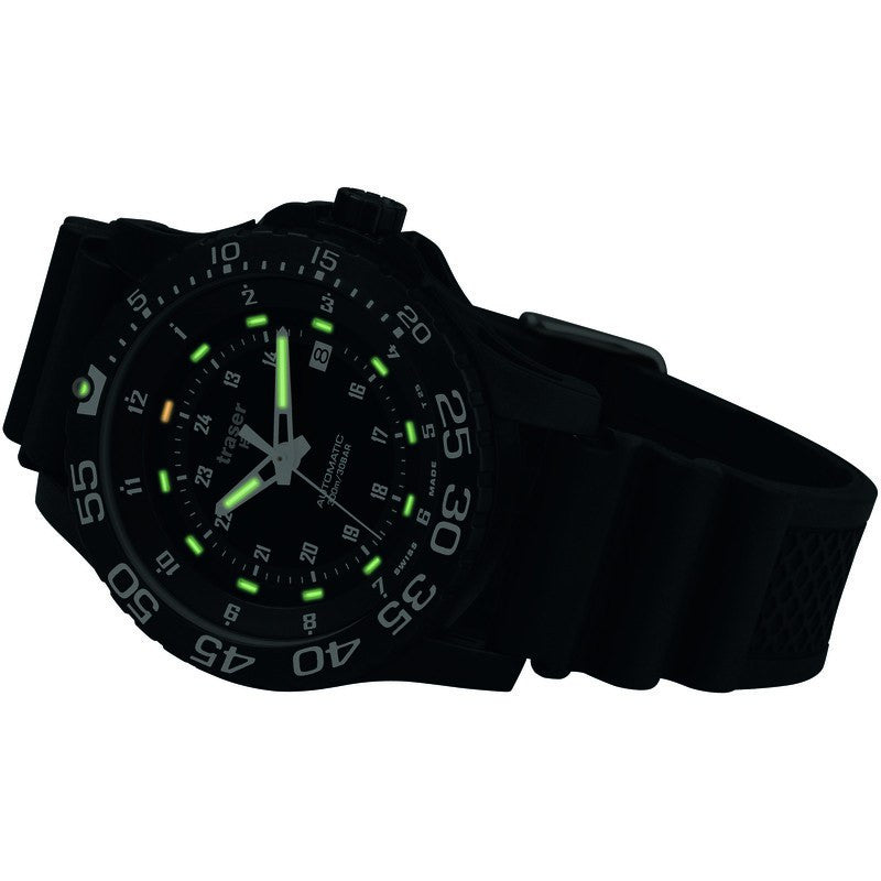 traser H3 Professional P6600 Automatic Pro Men's Watch | Rubber Strap