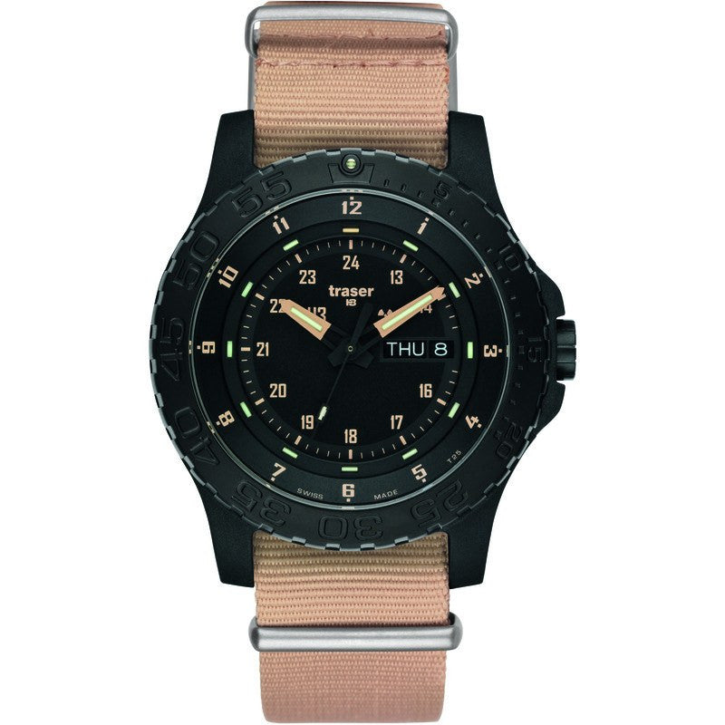 traser H3 Professional P6600 Sand Men's Watch Textile Strap Sand