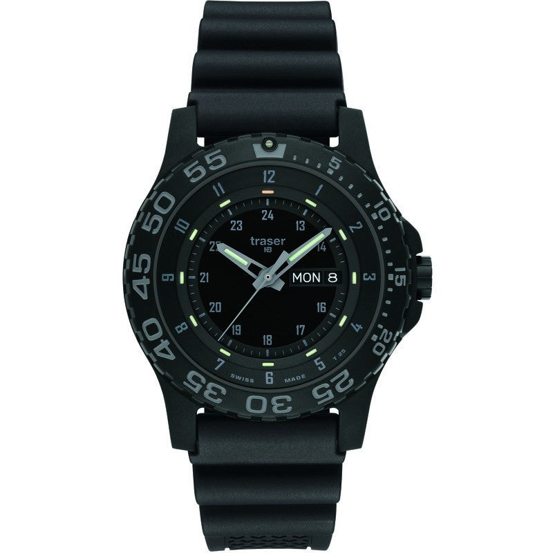 traser H3 Professional P6600 Shade Men's Watch Rubber Strap