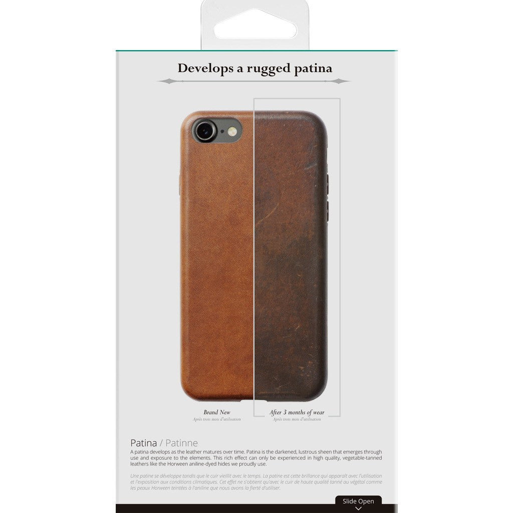 iphone 7 case brown leather
