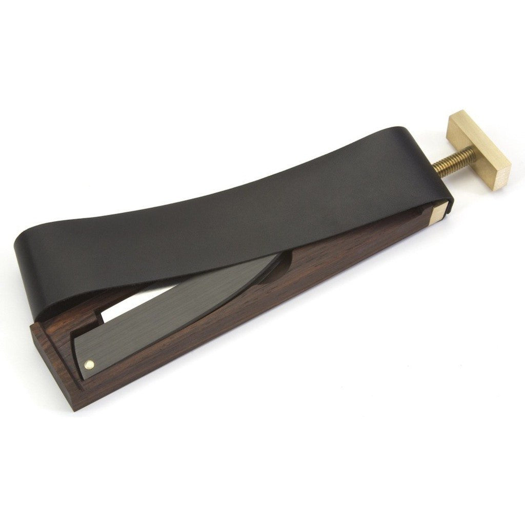 Ezra Arthur Paddle Strop & Razor Case | Black CS1751