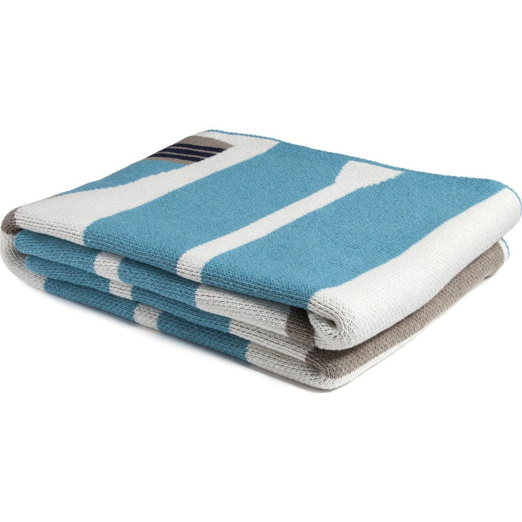 in2green Paddles Eco Throw | Aqua BL01PD3