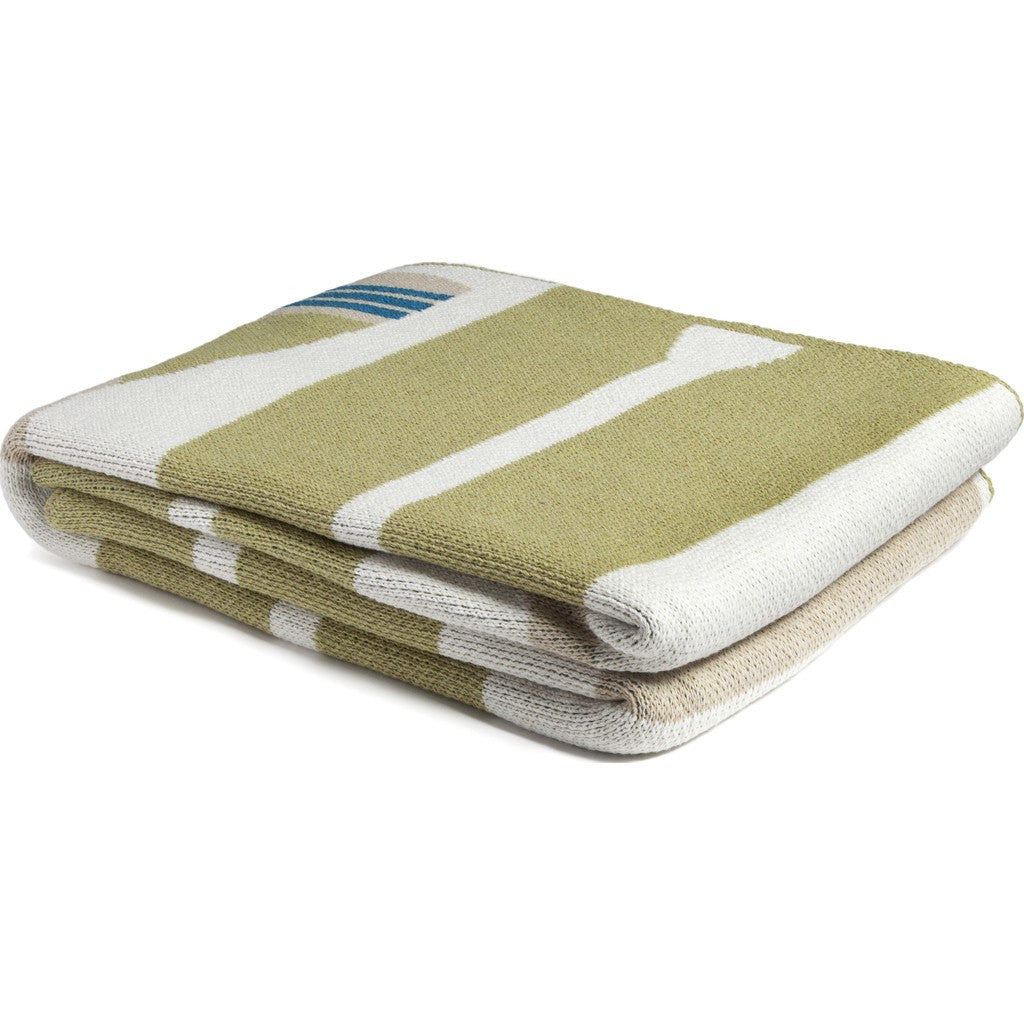 in2green Paddles Eco Throw | Pistachio BL01PD4