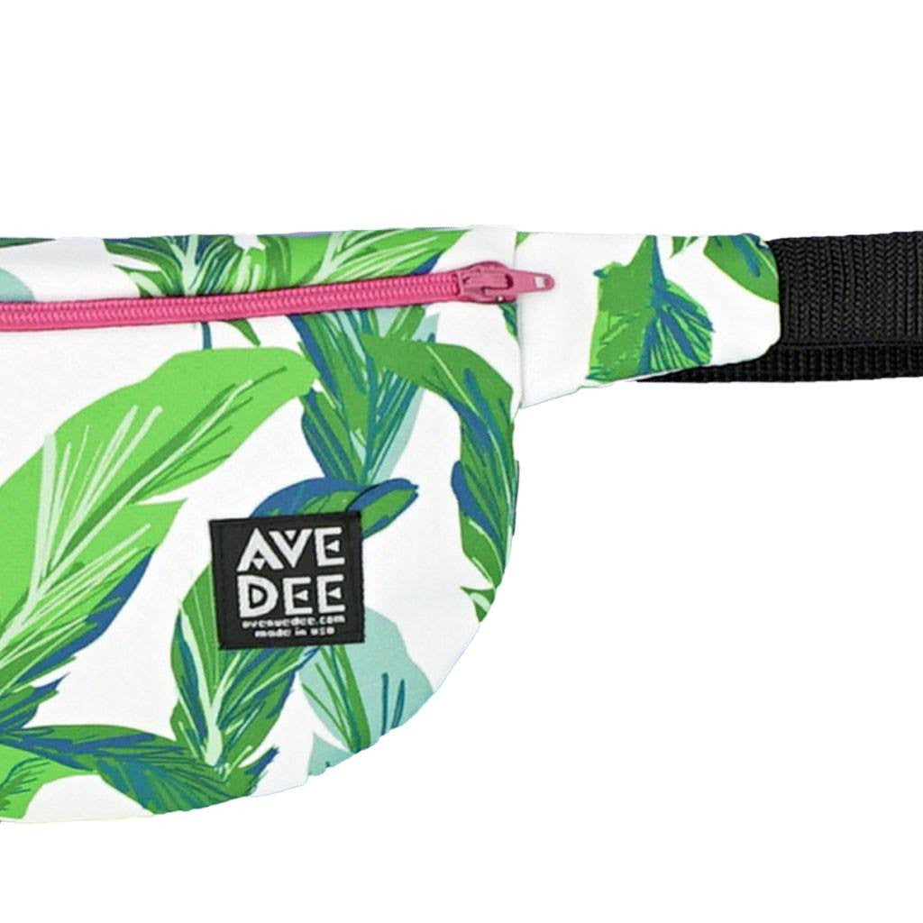 Avenue Dee Fanny Pack | Palm Leaves 10051