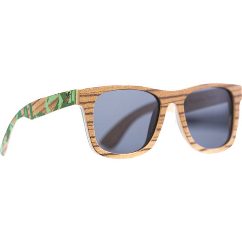 Proof Philipines Project Ontario Wood Sunglasses | Philippines Zebra/Polarized ontphilzgpol