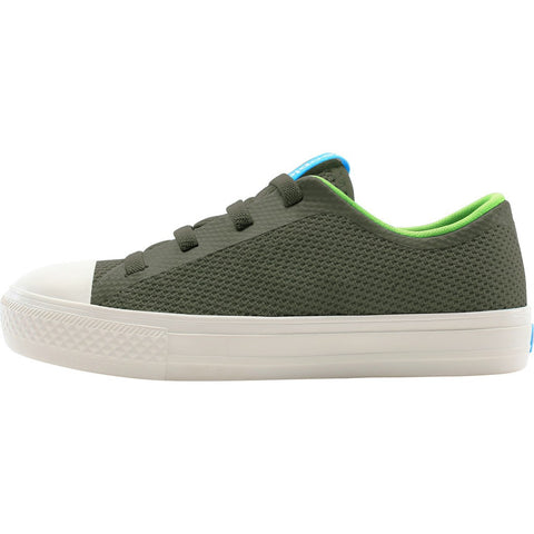 People Footwear Phillips Children's Shoes | Campsite Green/Picket White Size C5 NC01C-014-C5