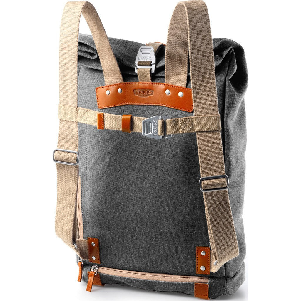 Brooks England Pickwick Small Day Backpack Grey Honey - Sportique af1a87b05f