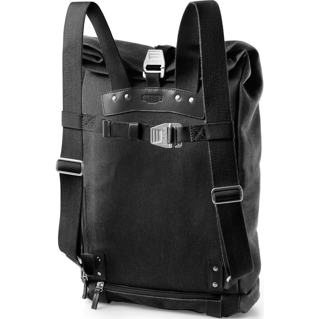 Brooks England Pickwick 24L Large Day Backpack | Black/Black