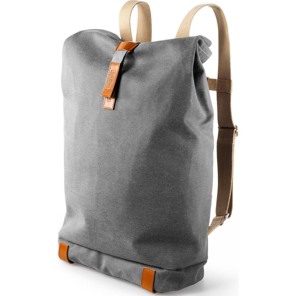 ... Brooks England Pickwick 12L Small Day Backpack   Grey Honey ... c8b61bfeb9