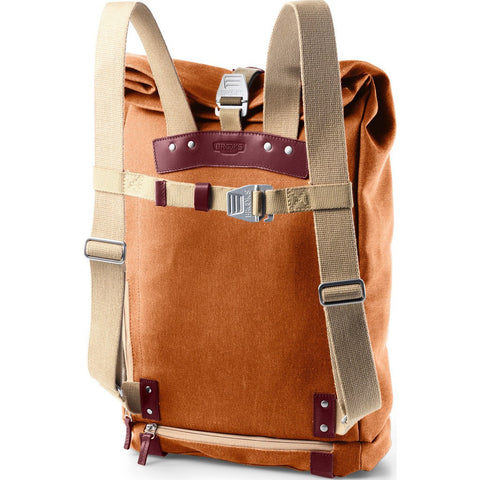 Brooks England Pickwick 24L Large Day Backpack | Goosebeak/Maroon B2003134