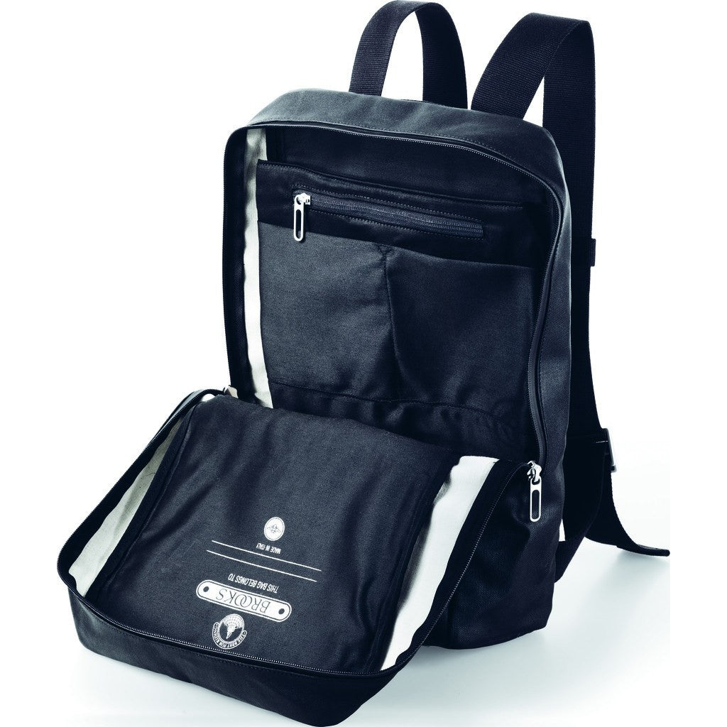 Brooks England Pickzip Backpack | Black BB044A07200