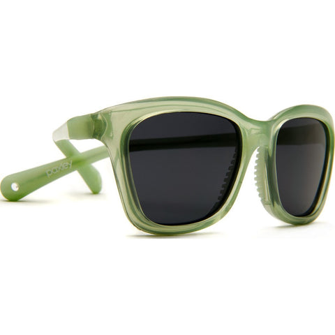 Paxley Pico Kids Sunglasses | Green Ages 0-2 P2 Green