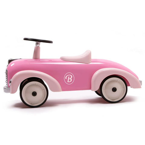 Baghera Kid's Speedster Ride On Car | Pink