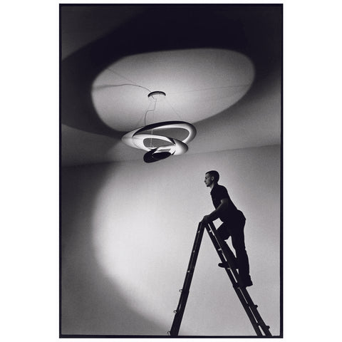 Artemide Pirce LED Suspension Lamp | White