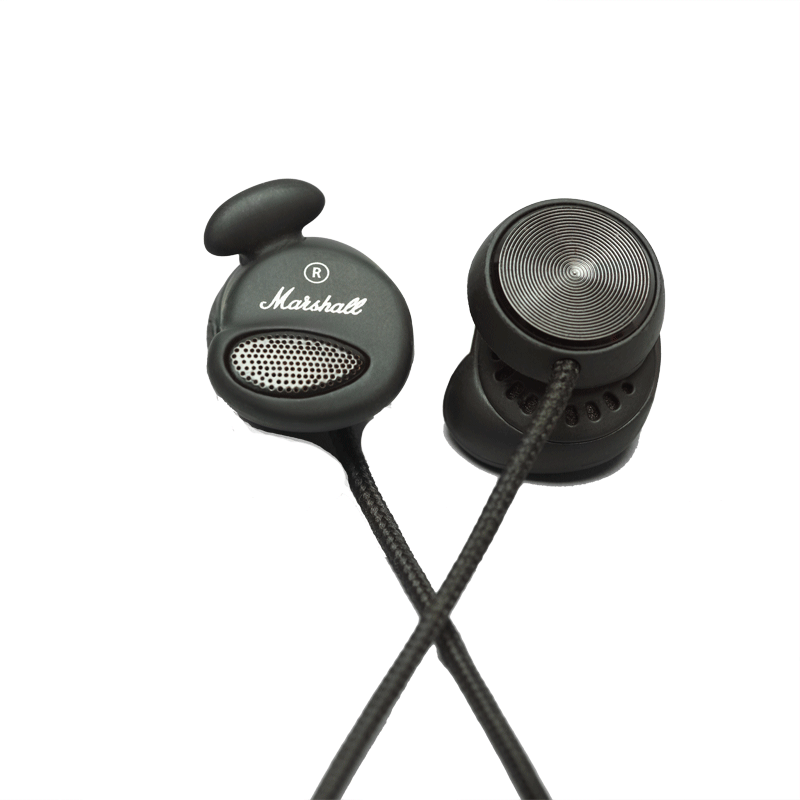 Marshall Minor In-Ear Headphones | Pitch Black ACCS-00149