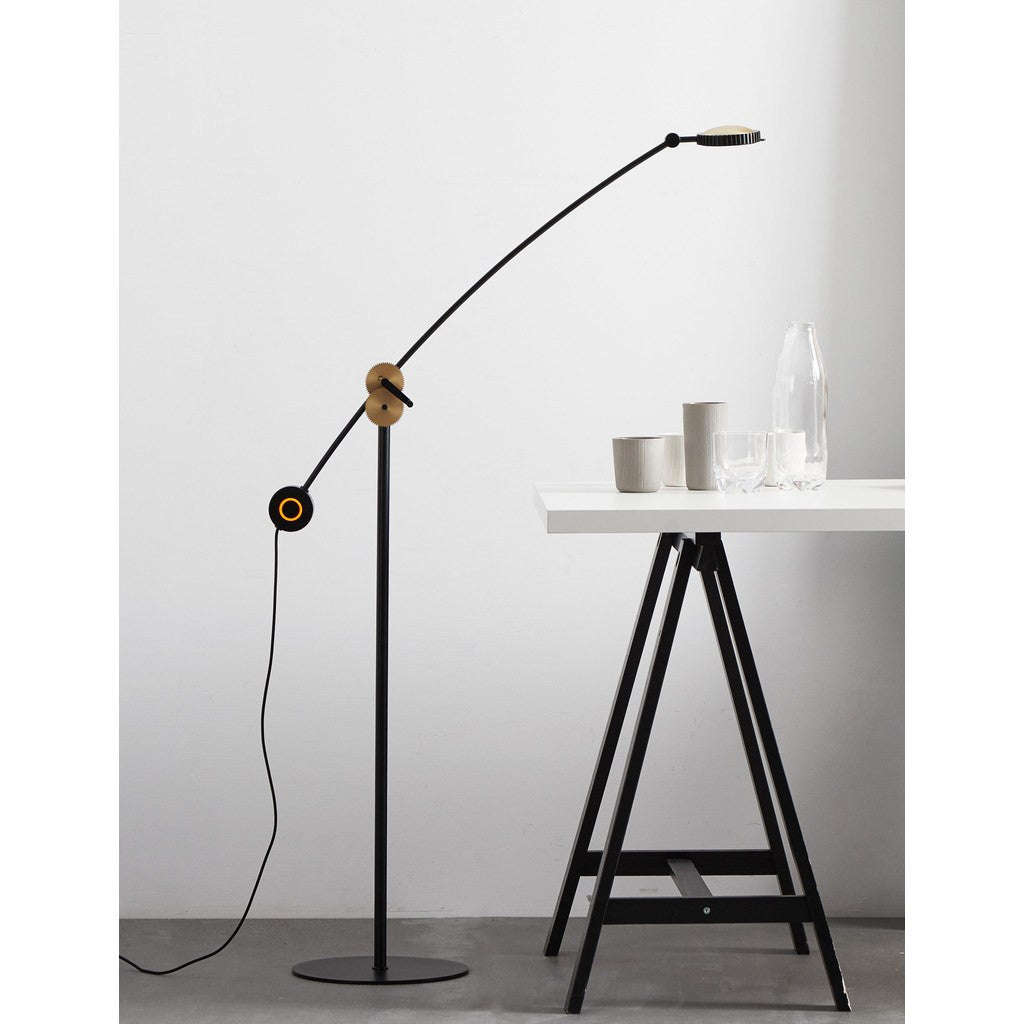 Seed Design Planet Floor Lamp | Matte Black/Copper SLD-100FRTE-CPR