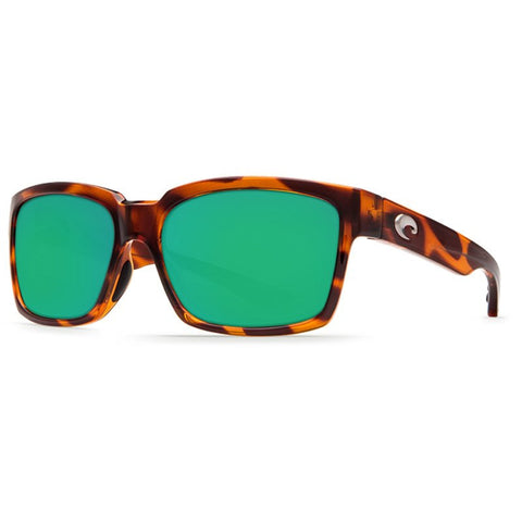Costa Playa Honey Tortoise Sunglasses | Green Mirror 580G