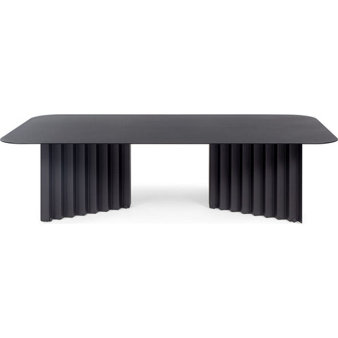 RS Barcelona Large Plec Table | Metal/Black
